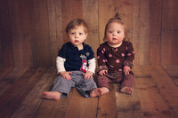 Sloane and Silas 1 yr